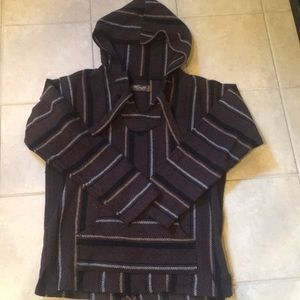 Handmade in Mexico poncho